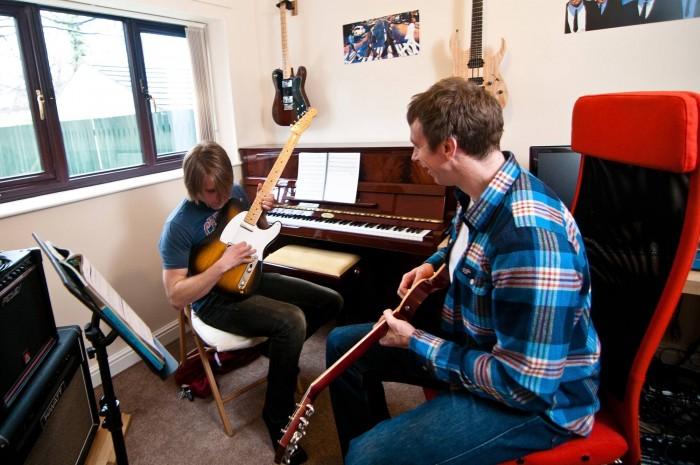 guitar lessons barnsley